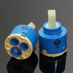 2stk Keramisk Cartridge Faucet Valve Blandingsbatteri Varm Og Kold Filter