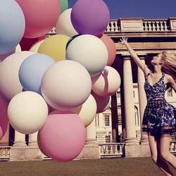 "36"" Big Size Latex Balloon Foto Prop Bryllupsfest Dekoration"