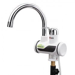 3sec Temperature Display Electric Water Heater Faucet Tap Tankless