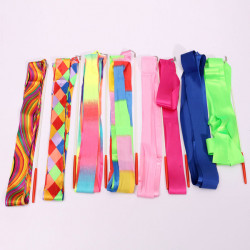 4M Art Gymnastik Ballet Streamer Twirling Rod Stick Wand Dance Ribbon Rhyth