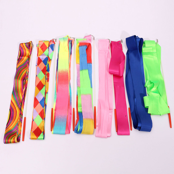 4M Art Gymnastic Ballet Streamer Twirling Rod Stick Wand Dance Ribbon Rhyth Festival Gifts & Party Supplies