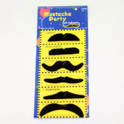 6PCS Stylish Costume Artificial Mustache