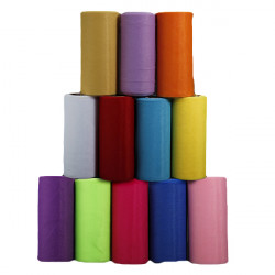 Vackra Bröllopsgåva Party Dekoration Tulle Spole Multi Color