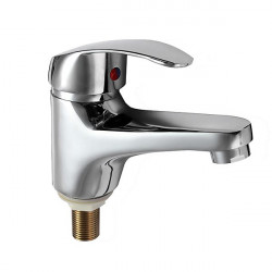 Brass Waterfall Single Handle Bathroom Basin Sink Mixer Faucets