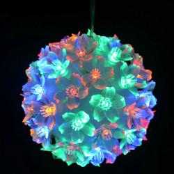 Jul Boll Lamp Bukett Circle Petals LED-lampor för Dekoration