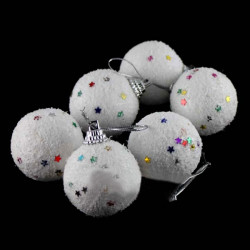 Christmas Decoration Plastic Snow Ball