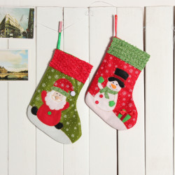 Christmas Decoration Stocking Tree Ornaments Gift Decoration
