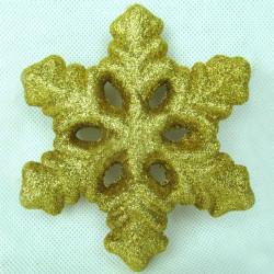 Julgran 3D Skum Snowflake
