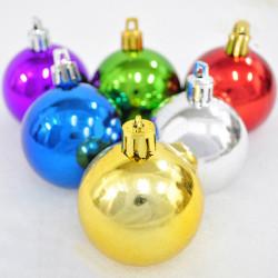 Juletræ Dekoration 6cm Light Jul Ball