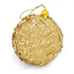 Christmas Tree Paillette Golden Ball