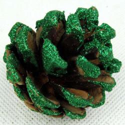 Juletræ Dekoration Grøn Fast Pinecone