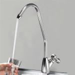 Verchromt Wasserhahn einzigen Handgriff Badezimmer Trinkwasser Tap Armaturen