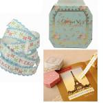 Dekorative Roll Sticky Paper Selvklæbende Klæbebånd DIY Packing Dekoration Festival Gaver & Festartikler