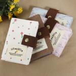 Floral Fabric Card Taske med 20 Steder Festival Gaver & Festartikler