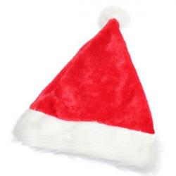 Fluffy Soft Christmas Lint Santa Hat