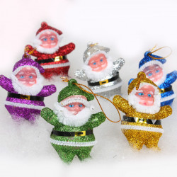 Golddust Santa Claus Christmas Decoration Supplies
