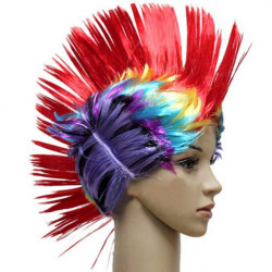 Halloween Dance Party Fake Comb Hair Color