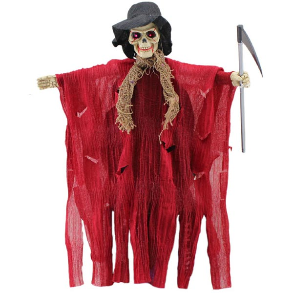 Halloween Decoration Sound Control Stretch Ghost Festival Gifts & Party Supplies