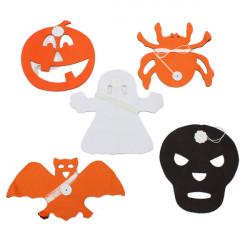 Halloween Paper Garland Dekoration til Halloween Props