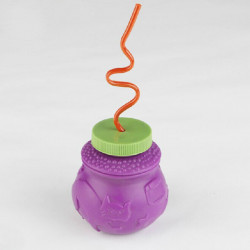 Halloween Party Decoration Honeypot With Straw Purple