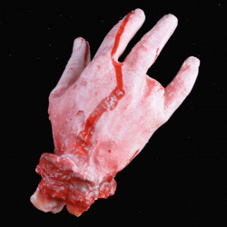 Halloween Party Decoration Whimsy Broken Finger Bloody Hand