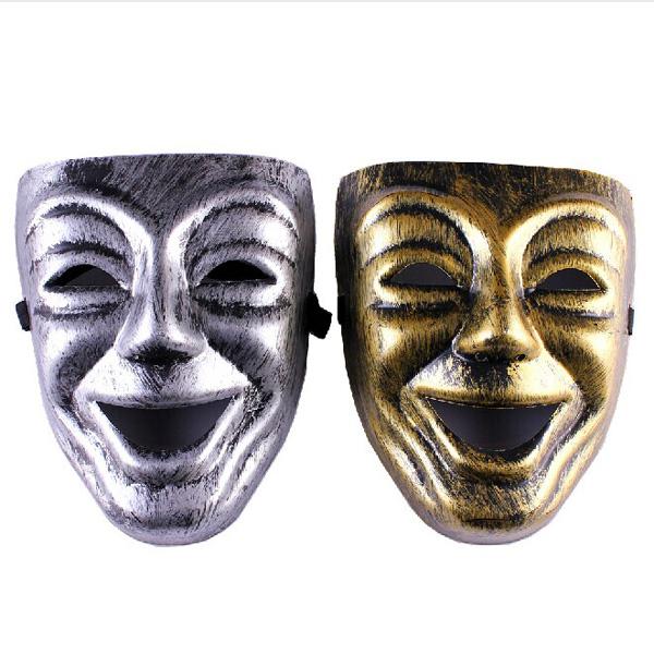 Halloween Parti Maskeraden Maskerar Forngrekiska Wine Gud Mask Fest & Kalasprylar