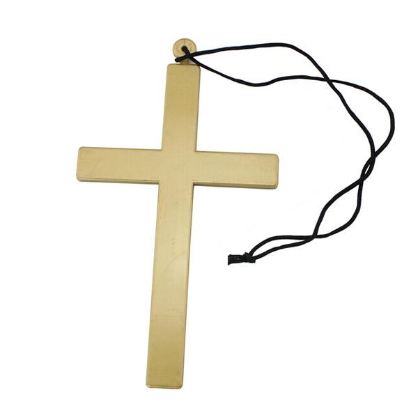 Halloween Parti Prästen Nun Jesus Kors Halsband Fest & Kalasprylar