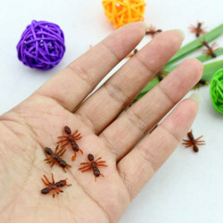Halloween April Skämmt Dag Trick Leksak Wacky Simulering Myror