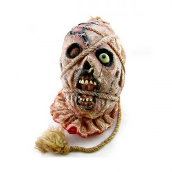 Halloween Supplies Dekorative Redskaber Horror Bøjle Zombie Hoved