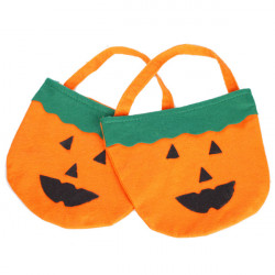 Halloween Levererar Rekvisita Pumpa Bag