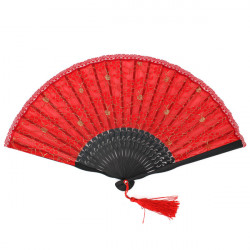 Lace Dancing Ydelse Prop Bud Silk Classical Folding Fan