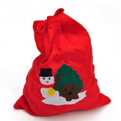 Large Red Christmas Gift Bag Santa Claus Gift Bags 40x28cm