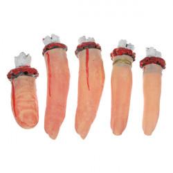 Latex Severed Finger Bloody Scary Thumb Halloween Prop Dekoration