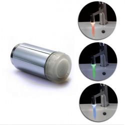 Led Full Brass Faucet Light Tap Splash proof Tap LD8002-A2