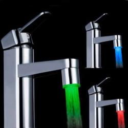 LED Ljus Kran Kranvatten Med Adapter LD8001-A9