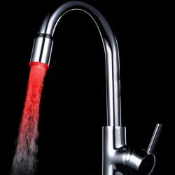 LED Kran Färgförändring Vattenkraft LD8002-A13