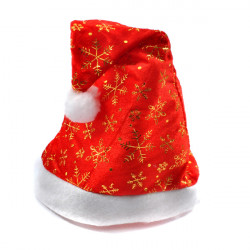 Lint Christmas Gold Hat