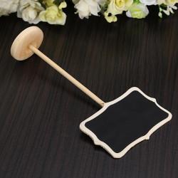 Mini tafel auf Halten stehen Message Board Platz Halter