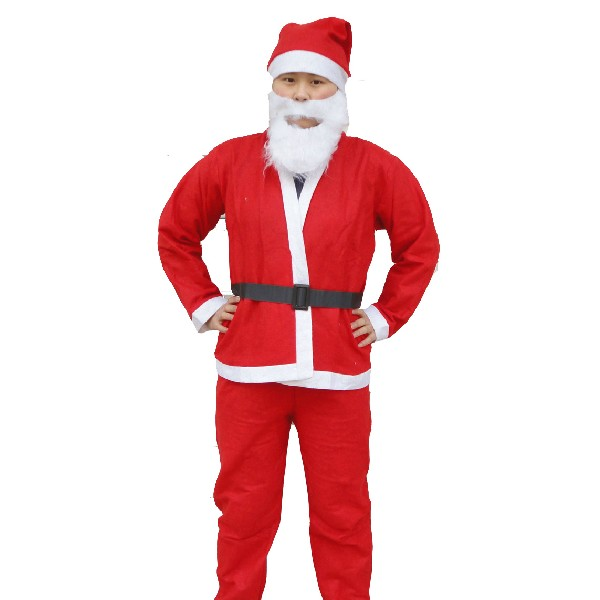 Non-woven fabrics Santa Claus Clothes 3 Sizes Festival Gifts & Party Supplies