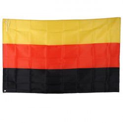 Udendørs Indendørs Tyskland Land Banner National Flag Pennant 3x5ft