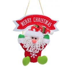 Parachute Santa Claus Christmas Hanging Decoration