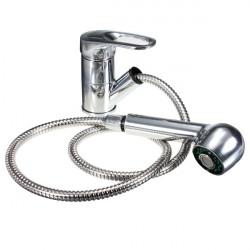 Polo Rør til Udtrækning Spray Monoblok Køkken Basin Sink Blandingsbatteri Vandhane
