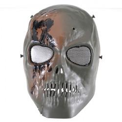 Schädel Skeleton Armee Paintball BB Gewehr volles Geist Gesichts Spiel Maske
