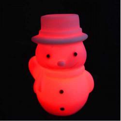 Snemand LED Natlampe Julepynt