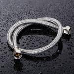 Stainless Steel Weave Wasserzulaufschlauch Doppel  Kopf Rohr Armaturen