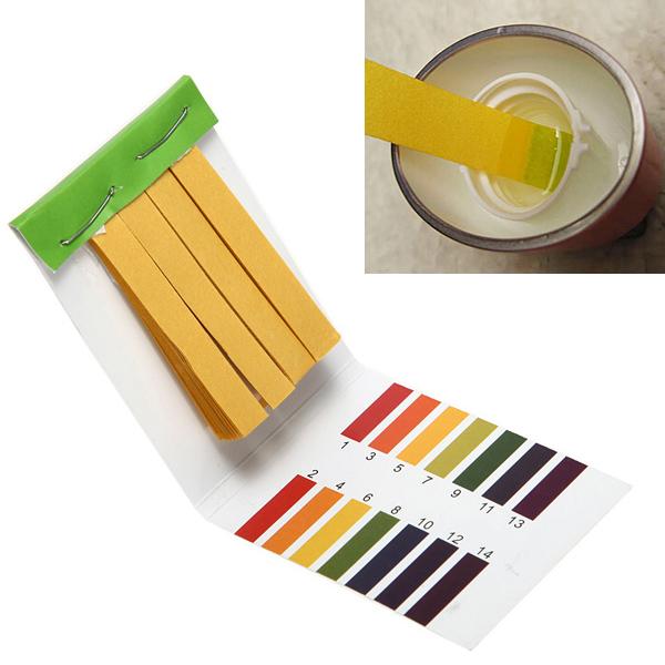 14.01 PH Alkaline Acid Test Papier Wasser Lackmus Test Kit Gartengeräte