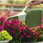 1.2L Garten PP Kunststoff langem Auslauf Blume Gießkanne Pot Flasche Gartengeräte