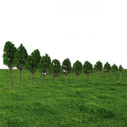 12pcs Micro Landscape Mulberry Trees Potted Plant Garden Decor