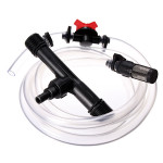 1 Inch Irrigation Venturi Fertilizer Injectors Device Filter Kit Tube Gardening