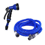 1PC 7.5m Flexible Garden Car Water Hose and Water Pipe Nozzle Gardening
